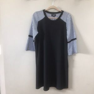 AGB long sleeve dress